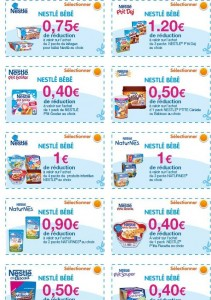 Bon de reduction pampers