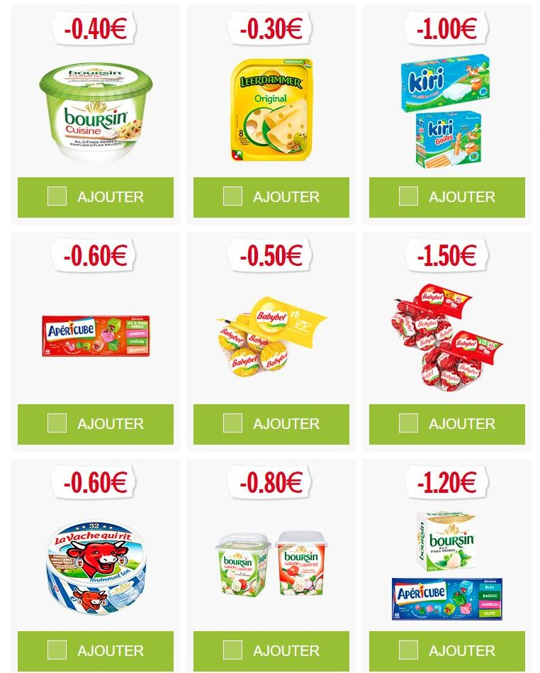 Coupons reductions papeterie