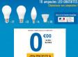 10 ampoules LED gratuites