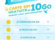 BOUYGUES : CARTE SIM GRATUITE DE 10 GO OFFERTE PENDANT 1 MOIS