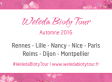 Weleda Bioty Tour ambiance « cosy et fleurie »